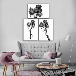 Ready2HangArt Indoor/Outdoor 3 Piece Wall Art Set (24 x 48) 'Memories of You' in ArtPlexi by NXN Designs