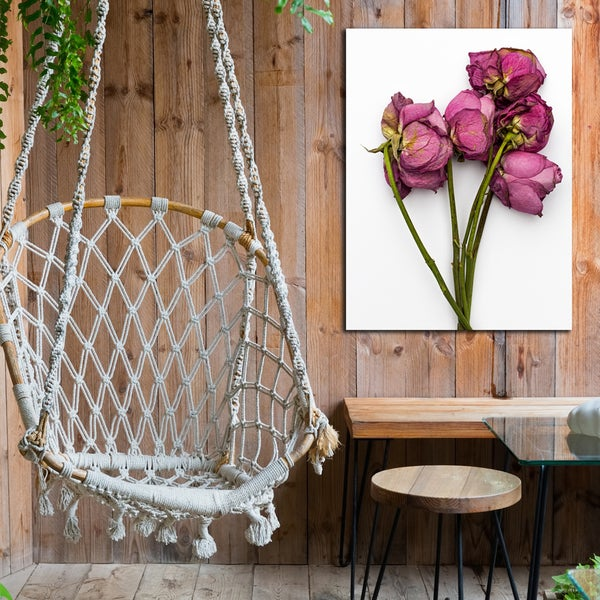 Ready2HangArt Indoor/Outdoor Wall Decor 'Thinking of You' in ArtPlexi by NXN Designs - Green/Pink