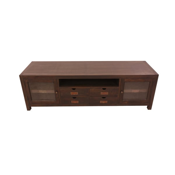 Handmade Nes Ribery Solid Teak 69 Inch Tv Stand Console Table Indonesia Free Shipping Today 14789866
