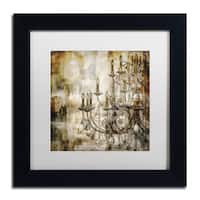 Color Bakery 'Lumi res II' Matted Framed Art