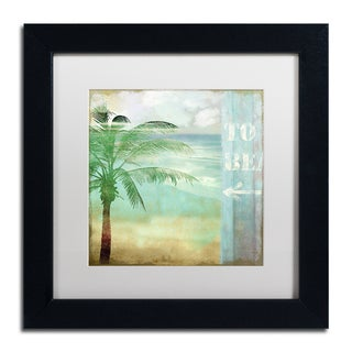 Color Bakery 'By the Sea III' Matted Framed Art