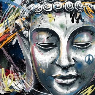 Maxwell Dickson 'Buddha' Modern Canvas Wall Art