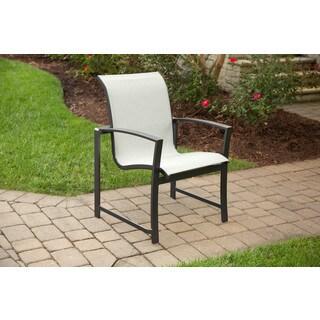 Agio Savoye Grey Aluminum Dining Chair