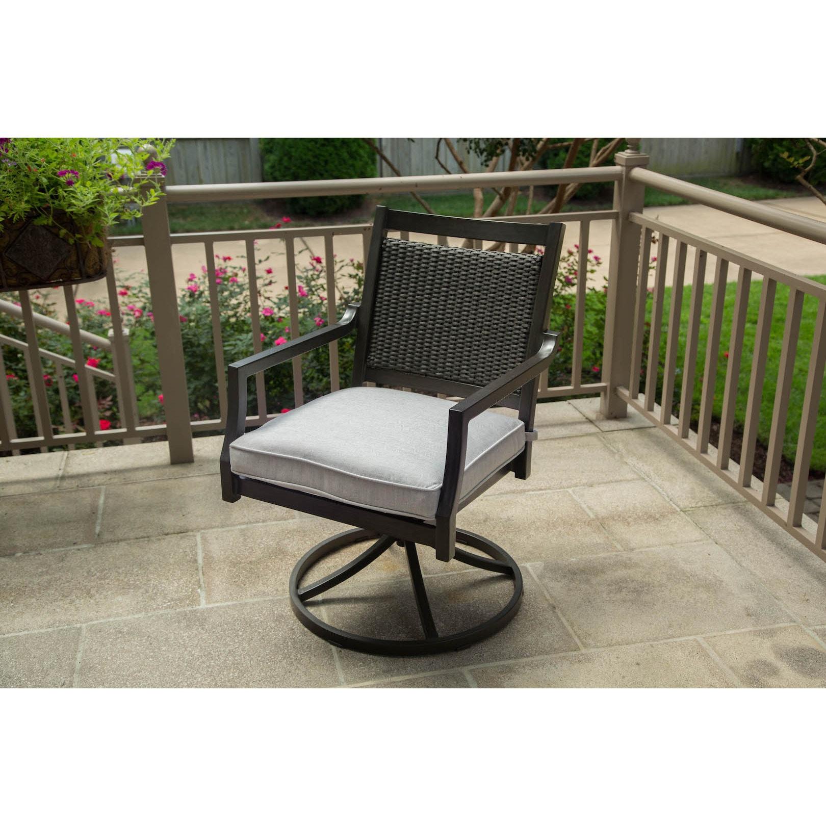 Stupendous Agio Maddox Swivel Rocker Ibusinesslaw Wood Chair Design Ideas Ibusinesslaworg