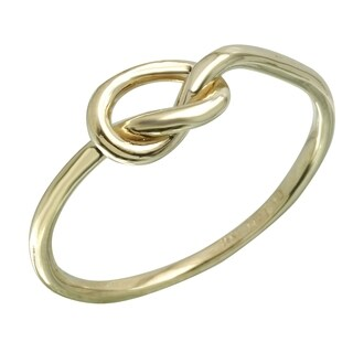 14k Italian Gold Heart Ring (More options available)