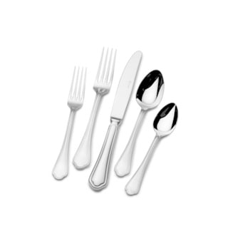 St. James Florence 18/10 Stainless Steel 80pc Flatware Set