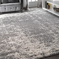 Porch & Den Williamsburg Seigel Faded Mist Shades Grey Area Rug (10' x 14')