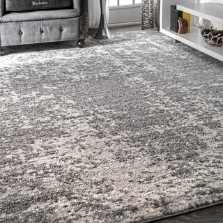Porch & Den Williamsburg Seigel Faded Mist Shades Grey Area Rug - 10' x 14'