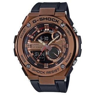 CASIO G-Shock GST210B-4A Black/Rose Gold Analog/Digital Quartz Men's Watch