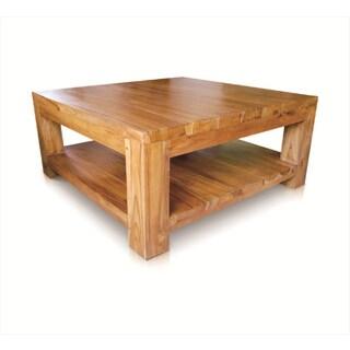 Handmade NES Caramia Solid Teak 20-inch Table / End Table (Indonesia)