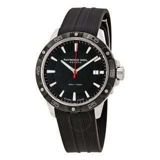 Raymond Weil Men's 8160-SR1-20001 'Tango' Black Rubber Watch