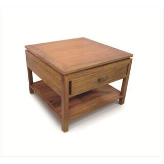 Handmade NES Lana Solid Teak 24-inch End Table