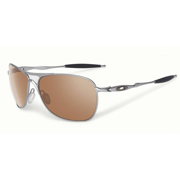 6d72f346e7 Shop Oakley Crosshair Sunglasses Chrome  Black Iridium 61mm - Silver ...