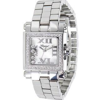 Pre-Owned Chopard Happy Sport 27/8516-3004 Stainless Steel Women's Diamond Watch