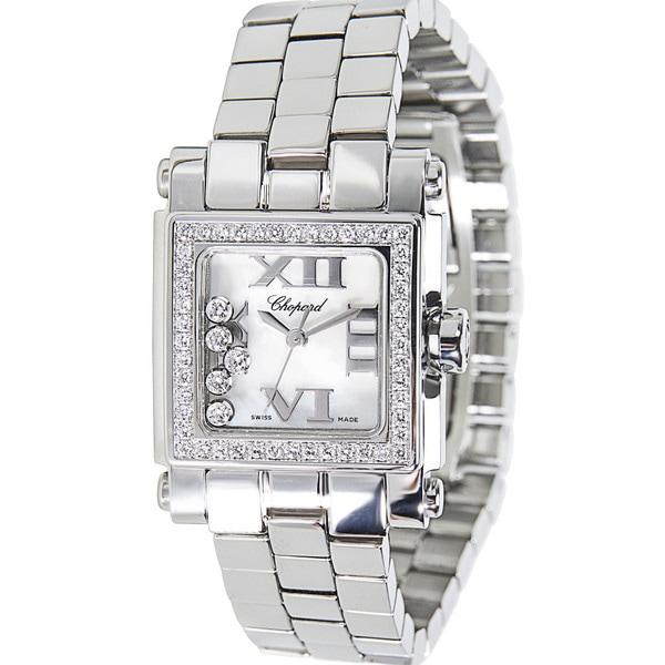 b9be5c07cabd9 Pre-Owned Chopard Happy Sport Stainless Steel Women's Diamond Watch