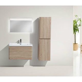 Moreno Happy 32-inch Wall Mounted Modern Bathroom Vanity