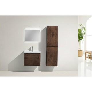 Moreno Happy 24-inch Wall Mounted Modern Bathroom Vanity