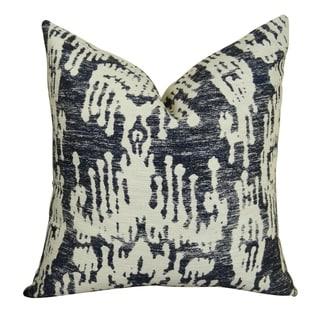 Plutus Painted Ikat Handmade Throw Pillow