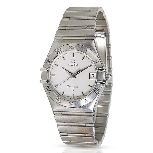 31b77f0177351 Shop Pre-owned Omega Constellation Stainless Steel Men s Watch ...