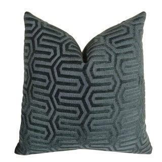Plutus High Path Handmade Throw Pillow