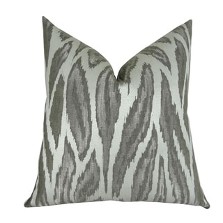Plutus Glacier Handmade Throw Pillow