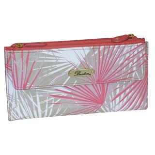 Buxton Tropical Palms Cosmopolitan Wallet