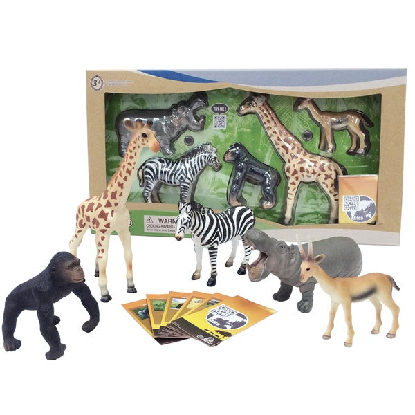 Nature Bound Wenno Jungle Safari Animals Series 2 Set