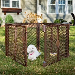 North States Stages Indoor/ Outdoor 4 Panel Petyard Pet Playpen