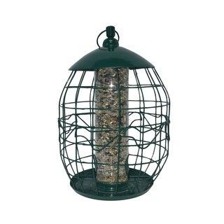 North States Green Metal Squirrel-free Tube Birdfeeder