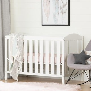 South Shore Reevo Crib and Toddler's Bed, Pure White