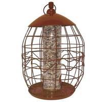 North States Copper Squirrel-free Tube Birdfeeder