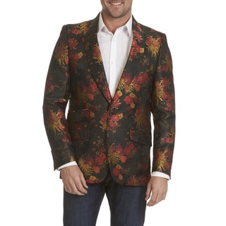 After Midnite Men's Floral Print Sports Coat