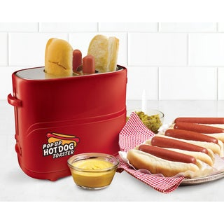 Nostalgia HDT200RED2PK Pop-Up Hot Dot Toaster