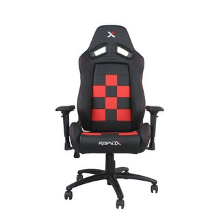 Finish Line Checkered Flag Pattern Gaming And Lifestyle Chair By RapidX