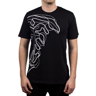 Versace Collection Black Half Medusa T-shirt