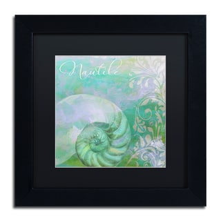Color Bakery 'Painted Sea I' Matted Framed Art