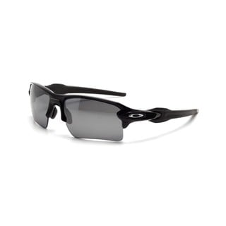 Oakley Flak 2.0 OO9188-08 Men's Polished Black Frame Black Iridium Polarized Lens Sunglasses