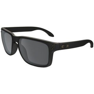 Oakley Men's Holbrook OO9102-63 Men's Matte Black Frame Black Iridium Lens Sunglasses