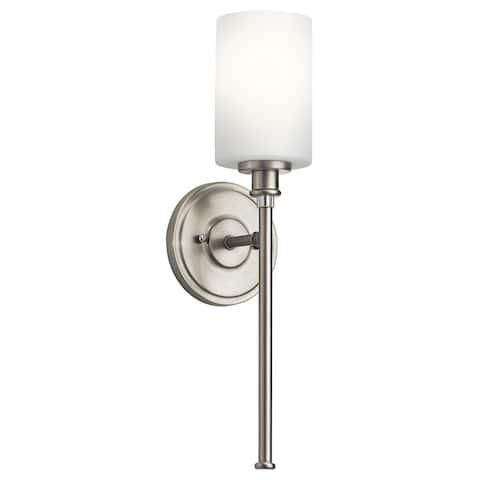Porch & Den Seri 1-light Brushed Nickel LED Wall Sconce - Brushed Nickel - Brushed Nickel
