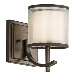 Kichler Lighting Tallie Collection 1-light Mission Bronze Wall Sconce