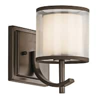 Gracewood Hollow Farouk Collection 1-light Mission Bronze Wall Sconce