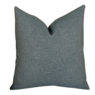 Plutus Textured Blend Handmade Throw Pillow