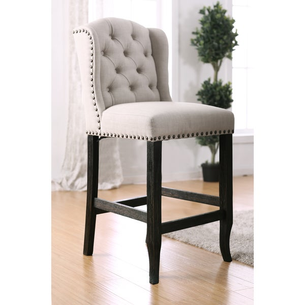 Furniture Of America Telara Contemporary Tufted Wingback
