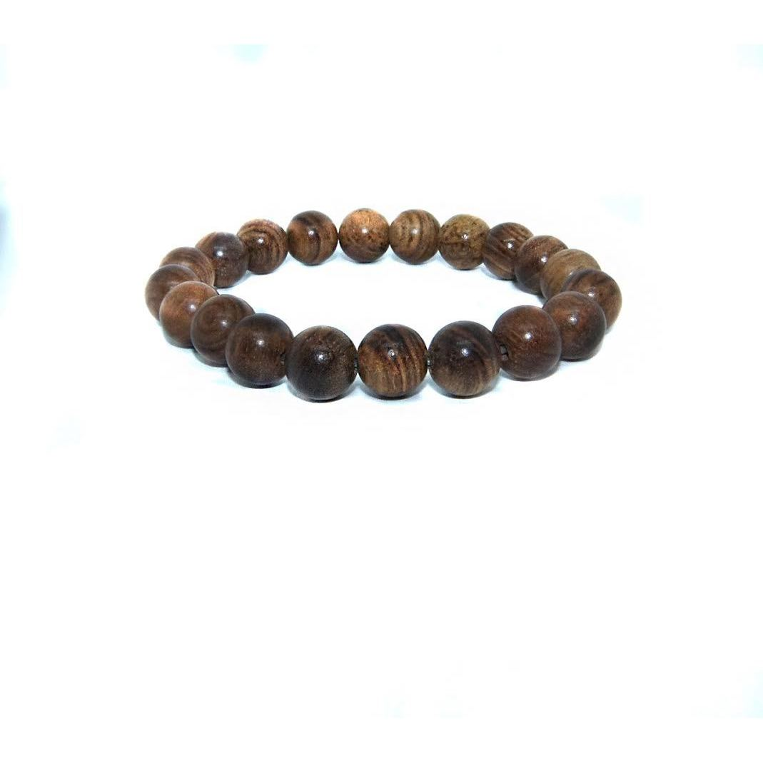 Ellaz Designs Natural Wood Bead Bracelet (Naturalwood Bea...