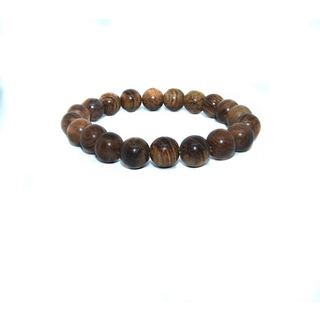 Ellaz Designs Natural Wood Bead Bracelet