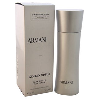 Giorgio Armani Armani Code Ice Men's 2.5-ounce Eau de Toilette Spray (Tester)