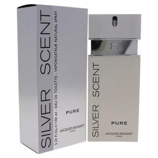 Jacques Bogart Silver Scent Pure Men's 3.3-ounce Eau de Toilette Spray