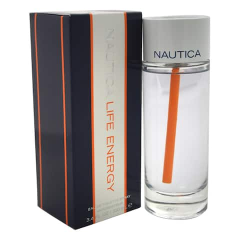 Nautica Life Energy Men's 3.4-ounce Eau de Toilette Spray