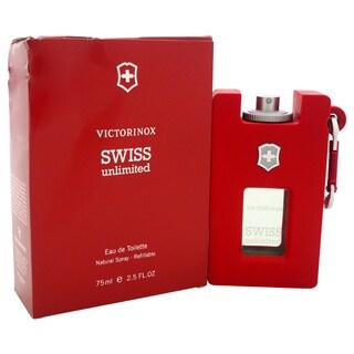 Swiss Army Swiss Unlimited Men's 2.5-ounce Eau de Toilette Spray Refillable (Tester)