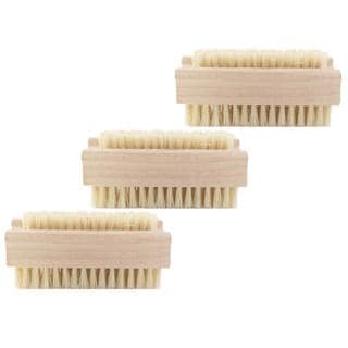 Rucci Double Side Nail Brush (Pack of 3)